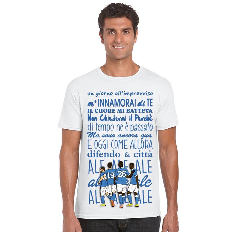T-shirt Napoli un giorno all'improvviso