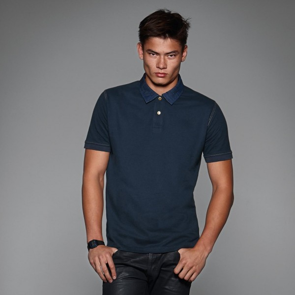 Foward men polo piquè manica corta