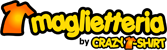 Maglietteria by Crazy T-shirt logo